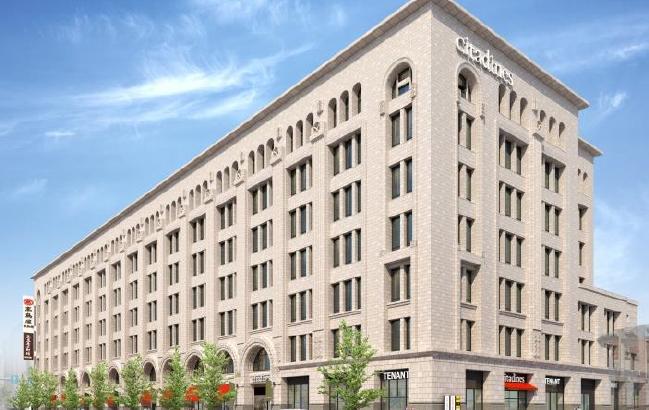髙島屋東別館、来年1月に再オープン 高級ホテル「シタディーン」も進出