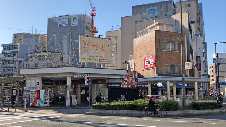 阪堺恵美須町駅、規模縮小後の新駅舎は2月1日供用開始