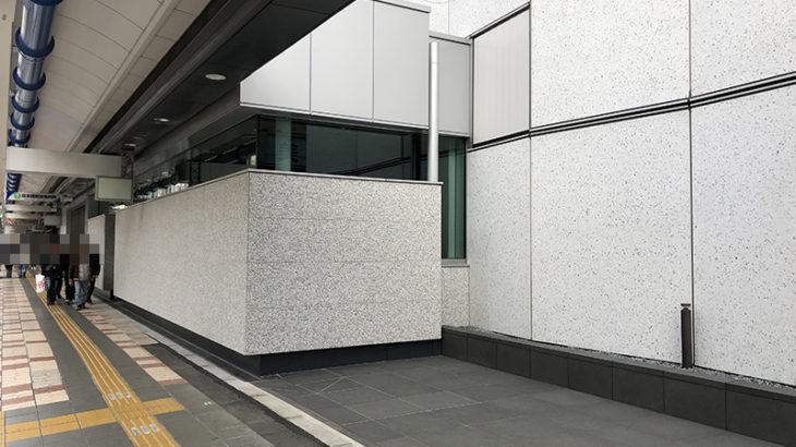 NTT日本橋ビル南館、建替後の堺筋沿い1階部分はほぼ「壁」に